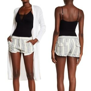 NEW Free People Casual Stripe Shorts